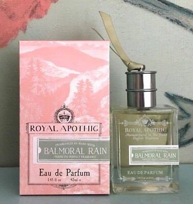 Royal Apothic Balmoral Rain Eau De Parfum 1 45 Oz   42 Ml New In Box