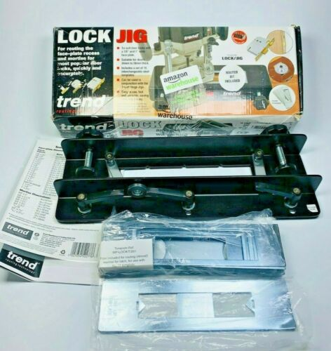 Trend LOCK/JIG Mortise and Face Plate Lock Jig