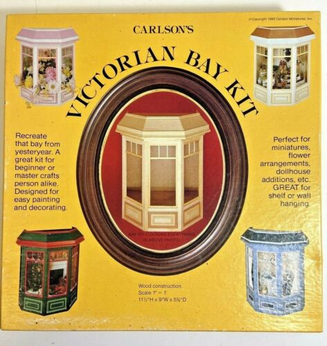 New Open Box Vintage Victorian Bay Kit Carlson