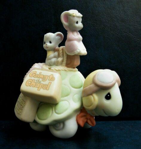 """Precious Moments Chapel Exclusive Figurine """"Going To The Chapel"""""""