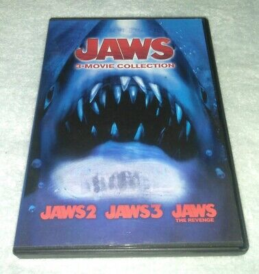 Jaws 3-Movie Collection DVD, 2015, 2-Disc Set for sale  Pownal