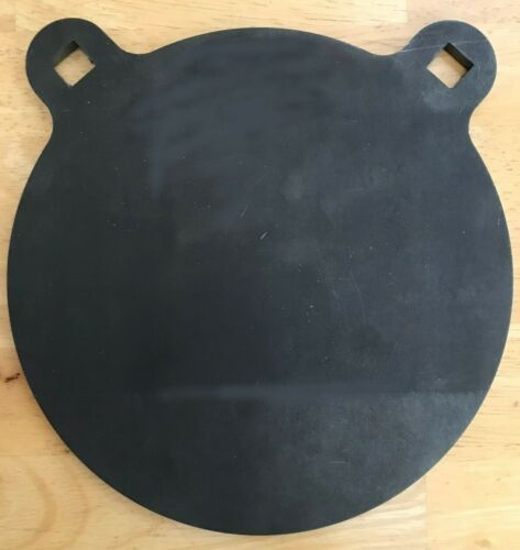 "3/8""  x 6"" AR500 Steel Target, 3/8"" Thick Steel, AR, Gong Target"