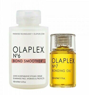 OLAPLEX NO. 6 BOND SMOOTHER & NO. 7 BONDING OIL HAIR CARE - TREATMENT DUO