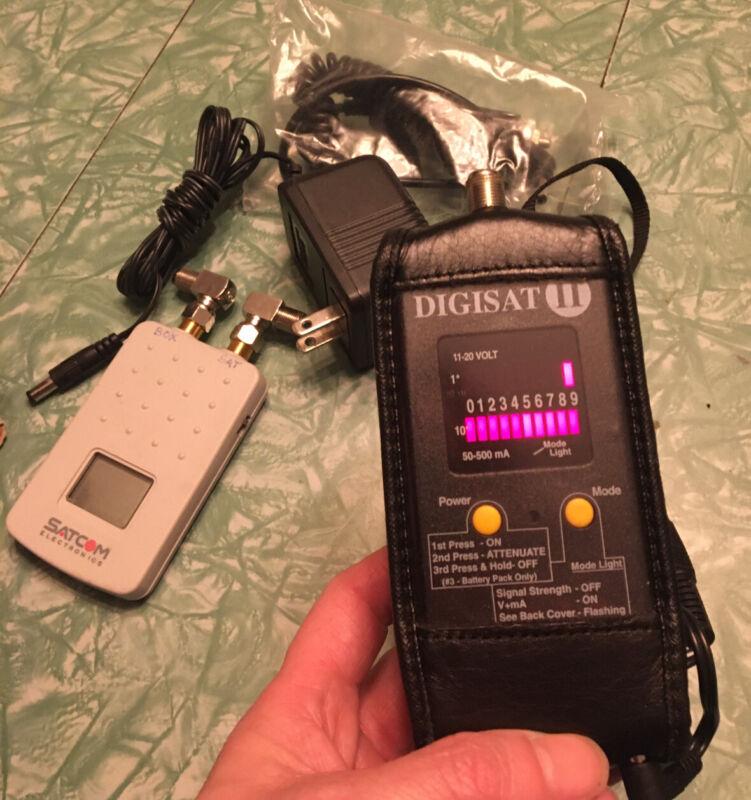 Perfect 10 DIGISAT II Plus Digital Satellite Finder w case, 2 chargers, Box