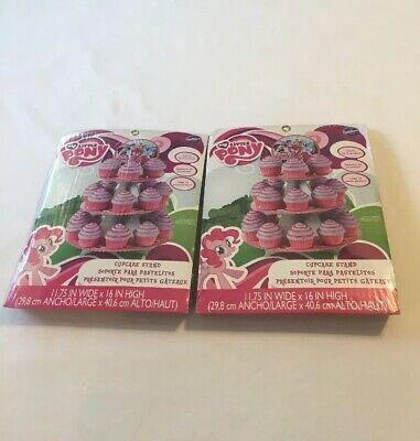 My Little Pony Cupcake Holders (My Little Pony 2 Pk Treat Stand Cupcake Holder Centerpiece Wilton Holds 50)