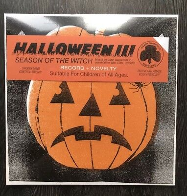 on Of The Witch Record Vinyl Factory Sealed New (Halloween Iii Vinyl)