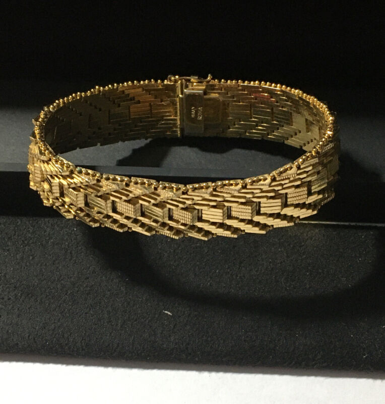 Gold Vintage Italy Roma Bracelet