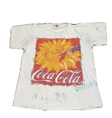 Vintage 1995 Coca-Cola Double Sided Short Sleeve T-Shirt  L