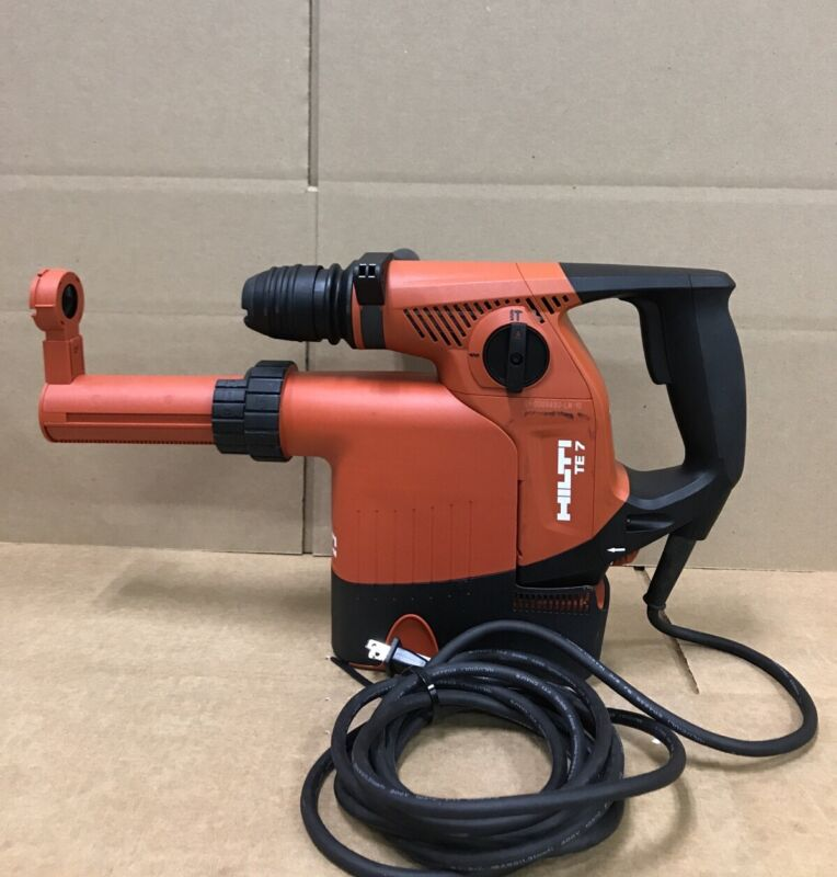 Hilti TE7 Rotary hamer drill & TE DRS-M Dust Collector