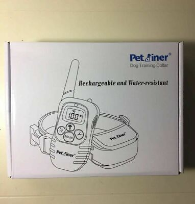 Petainer Dog Training Shock Collar Rechargeable & Water-Resistant
