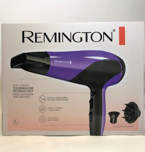 Remington D3190 1875 Watt Damage Protection Ceramic Hair Dry