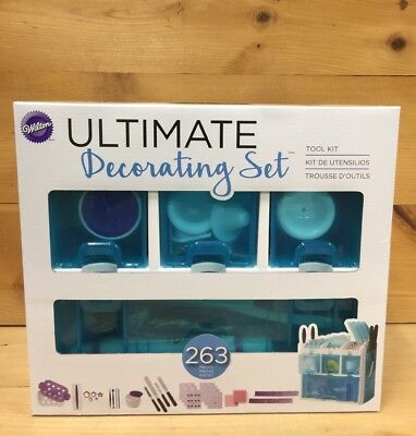 Wilton Ultimate Decorating Set Tool Kit, Blue, Cake Decorating Supplies