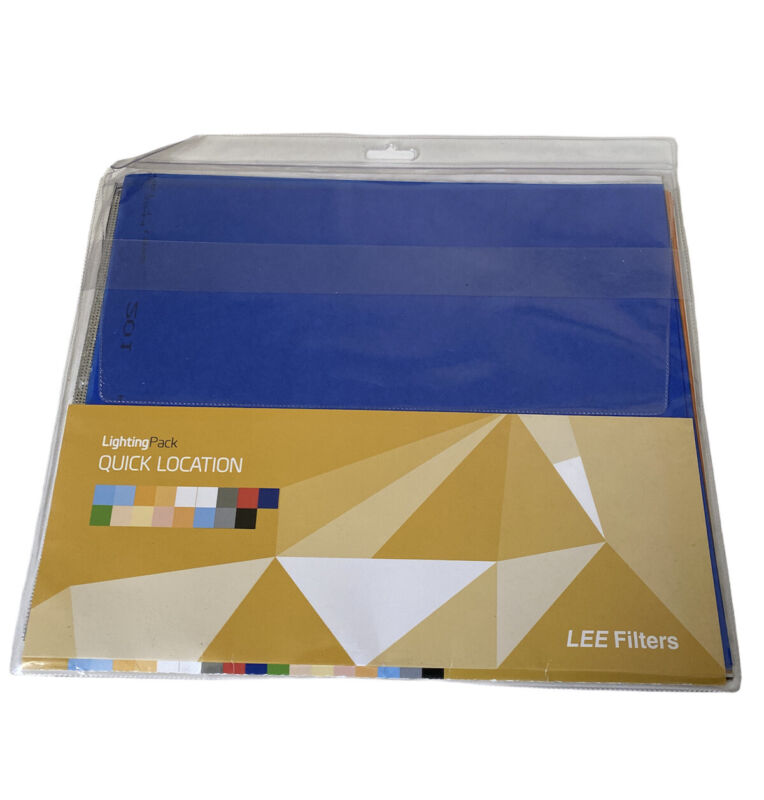 """Lee Filters Quick Location Pack 24 Gel Sheets 10"""" x 12"""""""