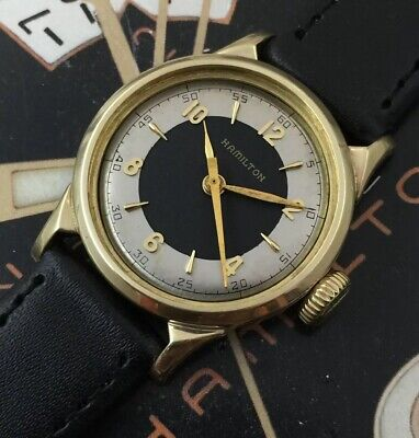 Vintage 1949 Mans Hamilton NORDON Hand Wind Fully Serviced Ready W/ WARRANTY