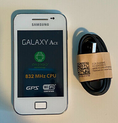 Samsung Galaxy Ace WHITE S5830i Android 3G Sim Free Unlocked Mobile Phone