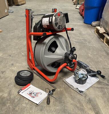 Ridgid 27008 Drain Cleaning Machine Drain Line I.d. Size Range 1-12 To 4 Max