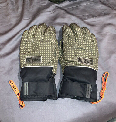 DC Franchise Snow Gloves Mens Large Night Camo Snowboard Ski