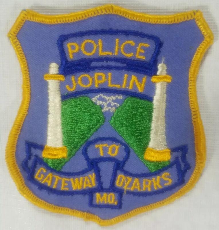 Joplin Missouri Police Department Patch Vintage