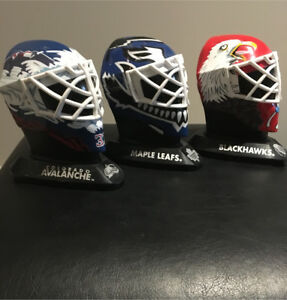 Goalie Helmets Mcdonald's NHL Happy meal Collectables