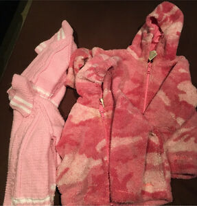 Cabellas girls jackets size 18 months and size 3