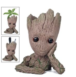 Guardians of The Galaxy Baby Groot Action Figure Flowerpot Style