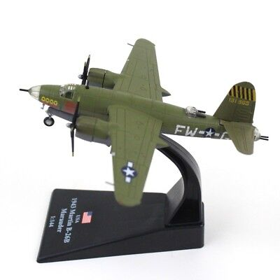 Used, 1/144 USA 1943 Martin B-26B Marauder WII Bomber Aircraft Plane Diecast Model for sale  China