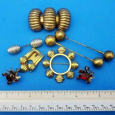 Steam Punk Accessories Jabot Cravat Ascot Pins Earrings Fashion Jewelry Monet