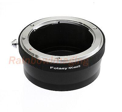 Nikon lens to Micro 4/3 M43 Adapter for Panasonic G3 G5 G7 GH3 GH4 GF6 GF7 GF8