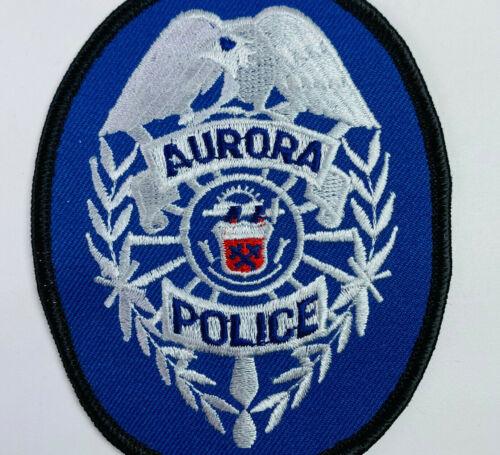 Aurora Police Arapahoe County Colorado CO Patch (A2)
