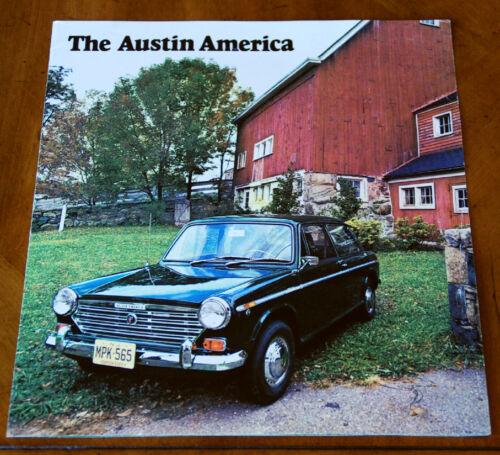 Austin America (US-model 1300) brochure Prospekt, 1969