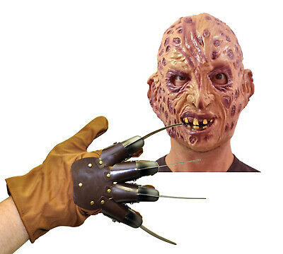Rubie's 4167 1231 Set Freddy Krueger Nightmare Guanto Maschera Costume Adulto