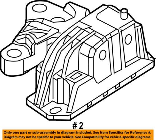 Chrysler Oem Engine Torque Strut Mount 68297795aa