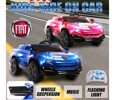 Newest Certificated FIAT Pickup Electric kids Ride on Toy Car