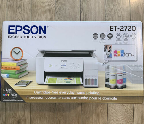 Epson EcoTank ET-2720 Wireless Color All-in-One Supertank Co