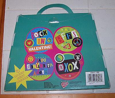 NIP 12 ROCK ON Rock-N-Roll Music Theme Valentine Cards ()