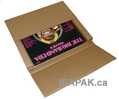 100 Lp Record Mailer Boxes For Secure Shippingmailing