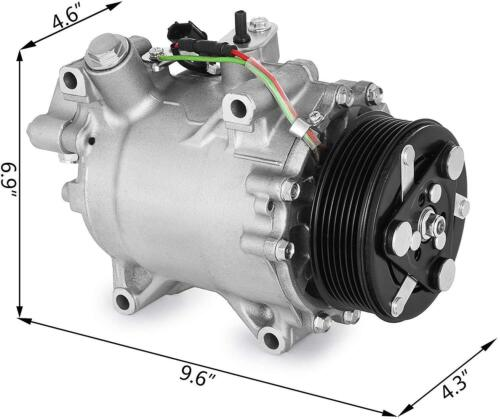 A/C Compressor W/ Clutch New Premium Aftermarket For Acura