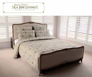 French Furniture Provincial Bed Frame in Natural Oak (Queen or Ki Dandenong South Greater Dandenong Preview