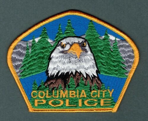 Columbia City Oregon Police Patch - Authentic