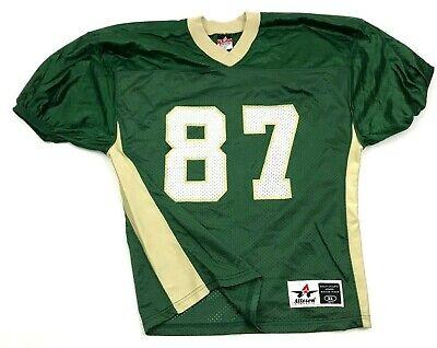 Clásicos Fútbol Jersey Juvenil Talla Extra Grande Verde Cuello Bandera Dos Manos