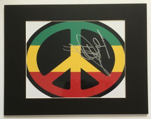 JIMMY CLIFF signed autograph photo 10 x 13 mat