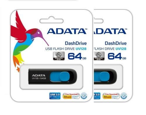 64GB 64 GB USB 3.0 Flash Thumb Pen  Drive Memory Stick Adata