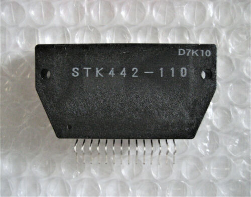 1 x NOS STK442-110 Integrated Circuit IC Audio Power Amplifier - US Vendor!
