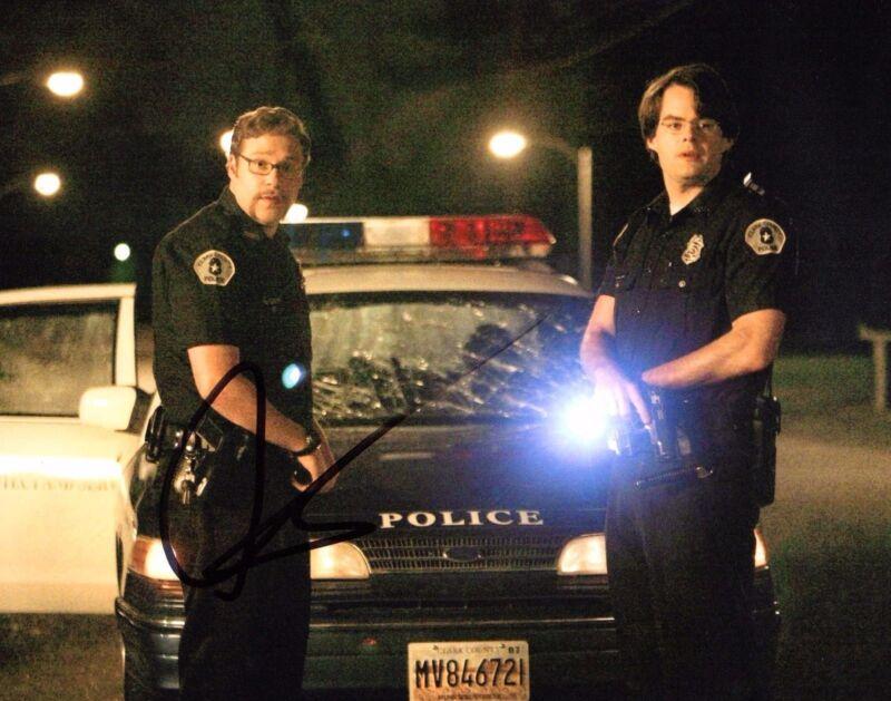 GFA Superbad Officer Michaels * SETH ROGEN * Signed 8x10 Photo S1 COA