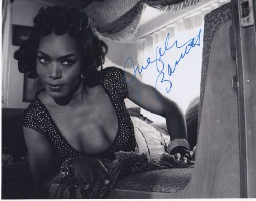ANGELA BASSETT SIGNED AMERICAN HORROR STORY FREAK SHOW! 11X14 PHOTO! AUTOGRAPH!
