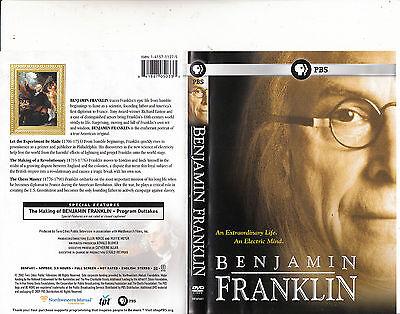 Benjamin Franklin-An Extraordinary Life.An Electric Mind-2002-Biography BF-DVD