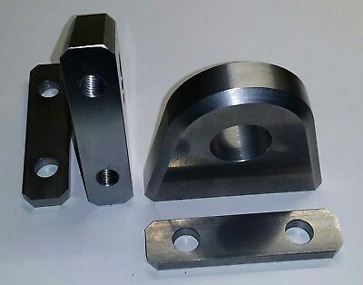 Shackle Mount For 34 Shackle - Heavy Duty D Ring Bolt On Clevis Hydraulic Cnc