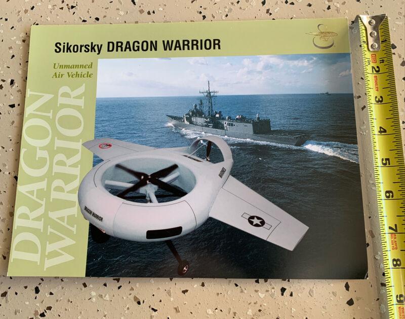 USMC SIKORSKY DRAGON WARRIOR URBAN WARFARE Picture poster 8.5 X 11 NEAR MINT
