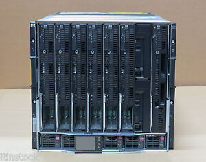 BLc7000-6x-BL680c-G5-22x-Quad-Core-E7330-1-x-BL685c-G6-4x-SIX-CORE-Blade-Server