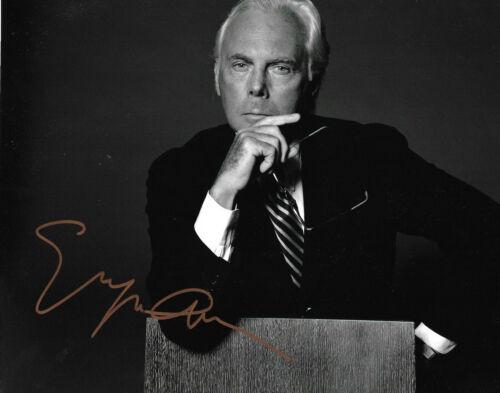 """Giorgio Armani """"Fashion Designer"""" signed 8x10 inch photo autograph"""